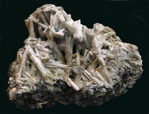 Cerussite, Campbell Shaft, Bisbee, Cochise Co., AZ