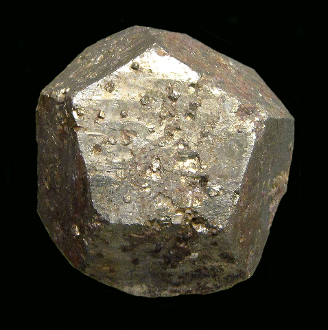 Pyrite, Cole Shaft, Bisbee, Cochise Co., AZ