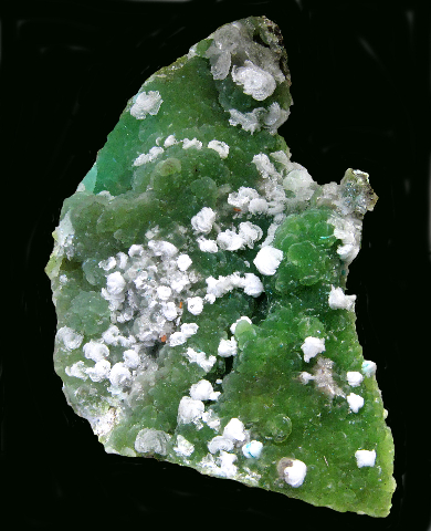Smithsonite with Calcite and Wulfenite, 79 Mine, Gila Co., AZ