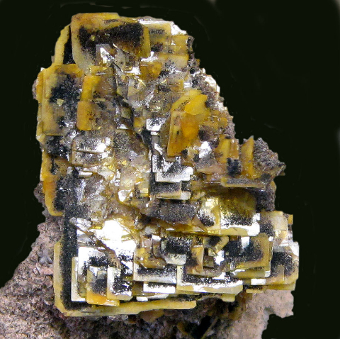 Wulfenite, 79 Mine, Gila Co., AZ