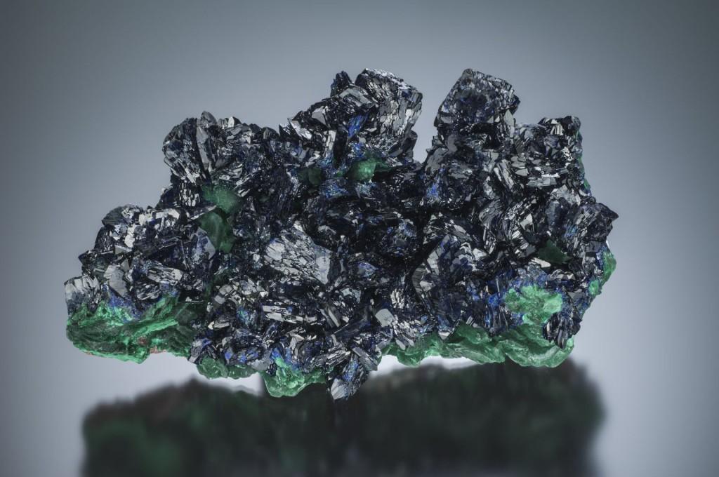 Azurite & Malachite, Milpillas Mine, Cuitaca, Mun. de Santa Cruz, Sonora, Mexico
