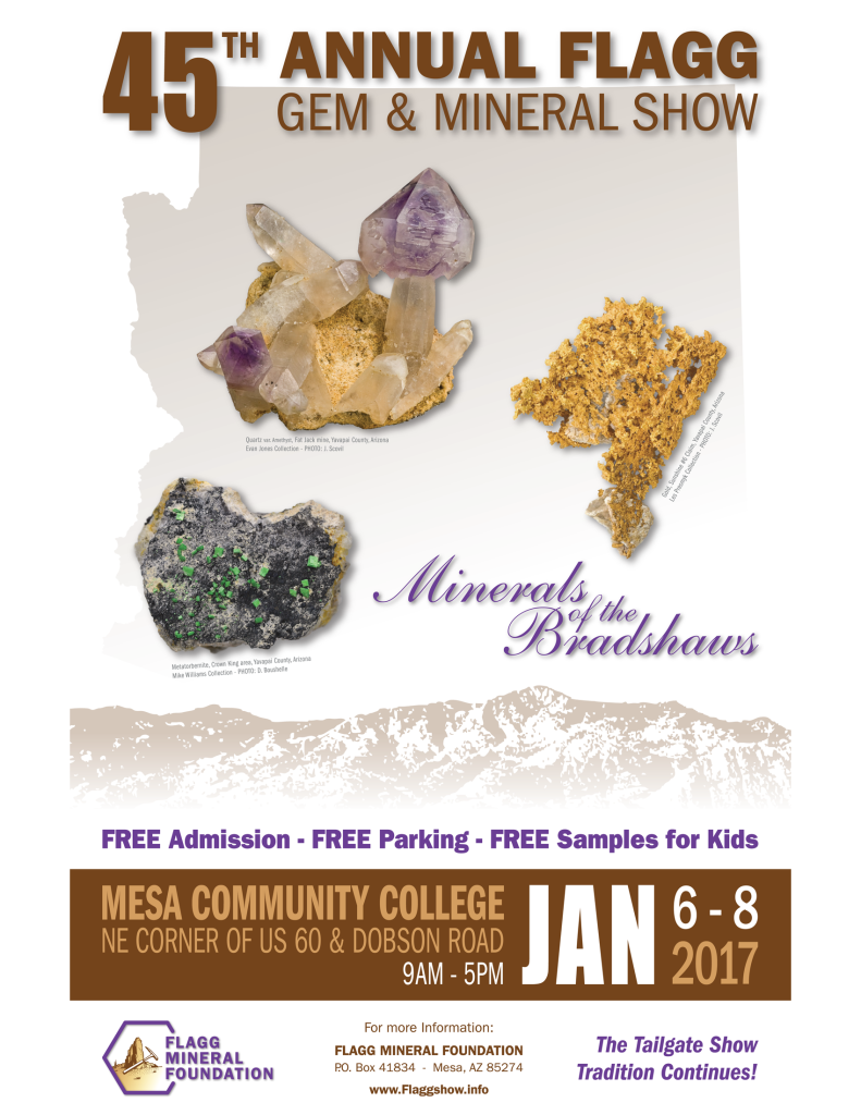 45th Annual Flagg Gem and Mineral Show @ Mesa Community College
